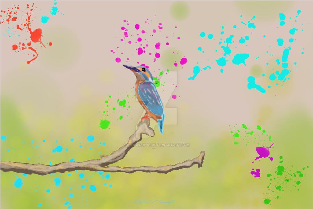 Hummingbird by krtheriault79