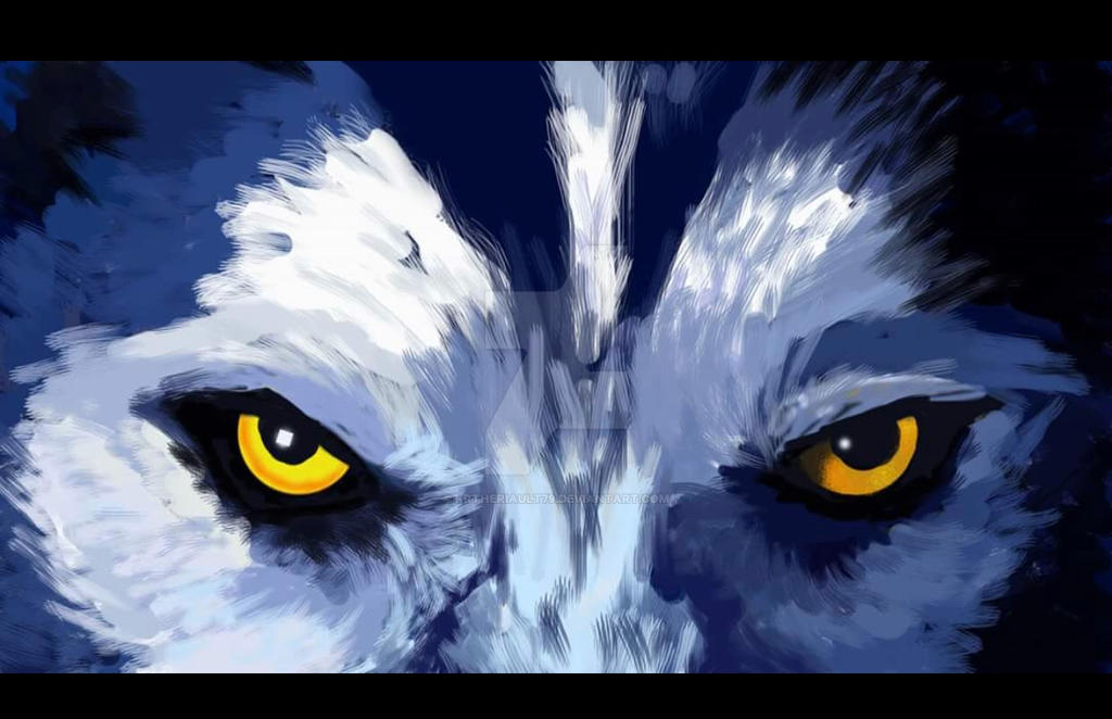 Wolf Eyes by krtheriault79