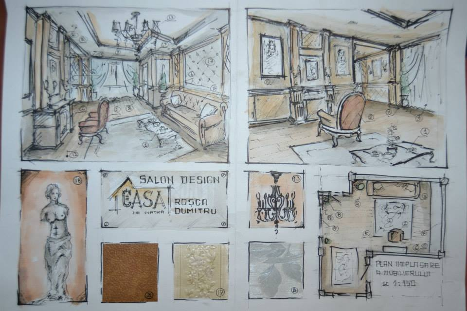 Classic design interior sketch by dymytryus md on deviantart for D classic interior design