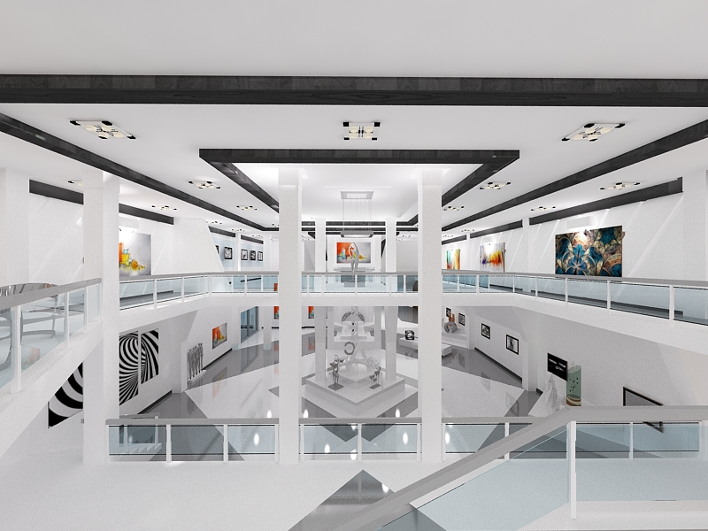3D Max Museum Interior By Dymytryus MD ...