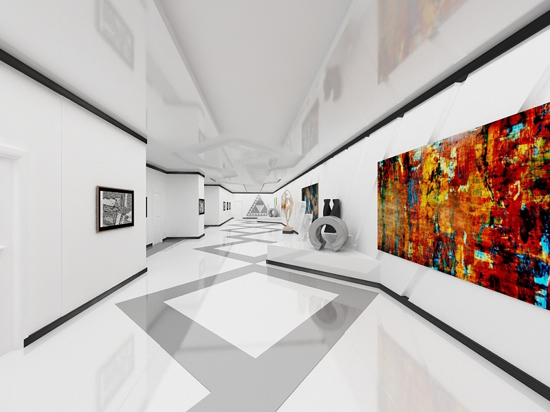 3D Max Museum Interior by Dymytryus-MD on DeviantArt