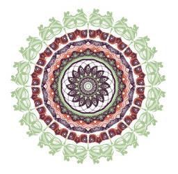 Mandala Project 011 by mandalagaba