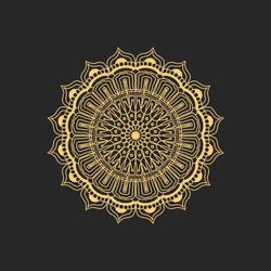 Golden Mustard Mandala by mandalagaba