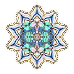 Swamp Flower Mandala by mandalagaba