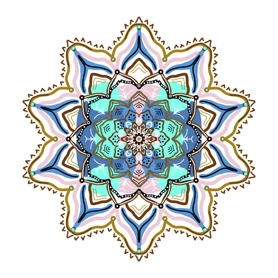 Swamp Flower Mandala by mandalagaba