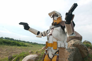 Clone Trooper by bryanhumphrey