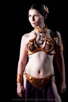 Slave Leia II by bryanhumphrey