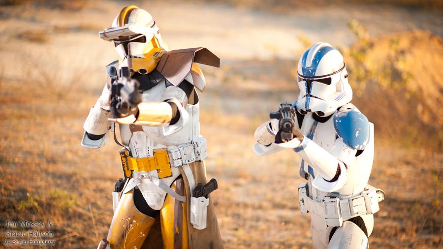 Clone Troopers by bryanhumphrey