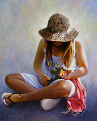 Three flowers by josehiguera