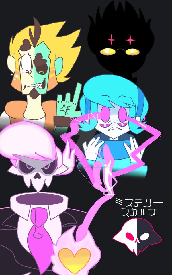 The Mystery Skulls Gang by homeworld-gem