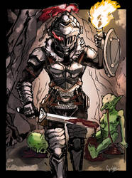 Goblin Slayer by ScarecrowofQC