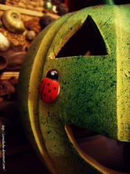 evil green pumpkin by cornelusha