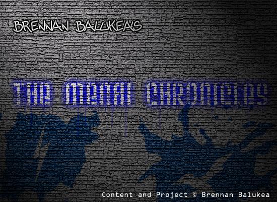 The Menai Chronicles Title by Blackan