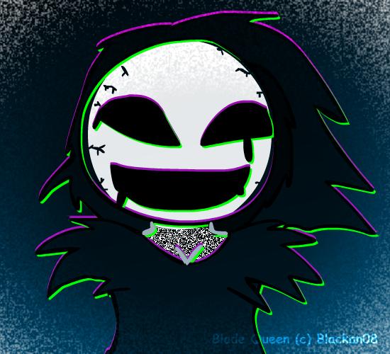 Blade Queen Static by Blackan