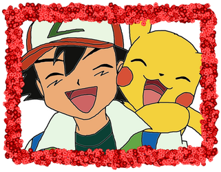 Ash And Pikachu Best Buddies by yoblowit19