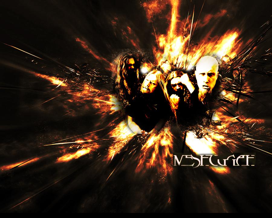 Meshuggah abstract by jwalts37