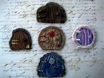 Polymer Clay Fairy Portals V1 by RoyalKitness