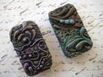 Artsy Polymer Clay Tins