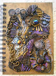 Ancient Treasure Polymer Clay Journal