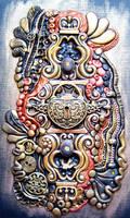 Steampunk Heart Lock Polymer Clay Journal by RoyalKitness