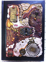 Rustic Love Polymer Clay Journal by RoyalKitness