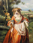 Shepherdess (Copyright V.Leonard 2012)
