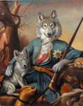 The Hunting Lesson  (Copyright V.Leonard 2011)