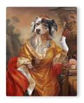 Australian Shepherd as Russian Countess