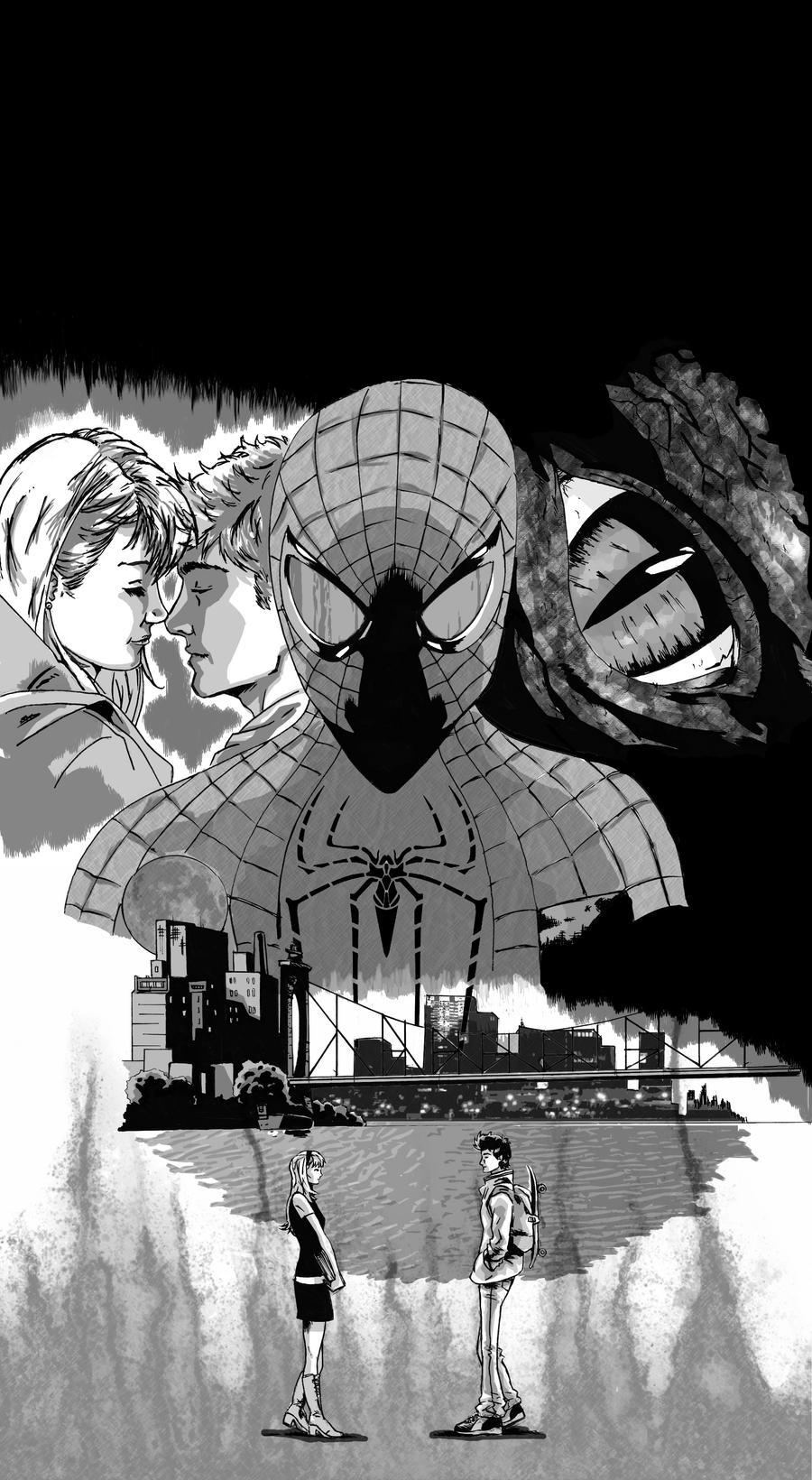 The Amazing Spiderman by jayhorner