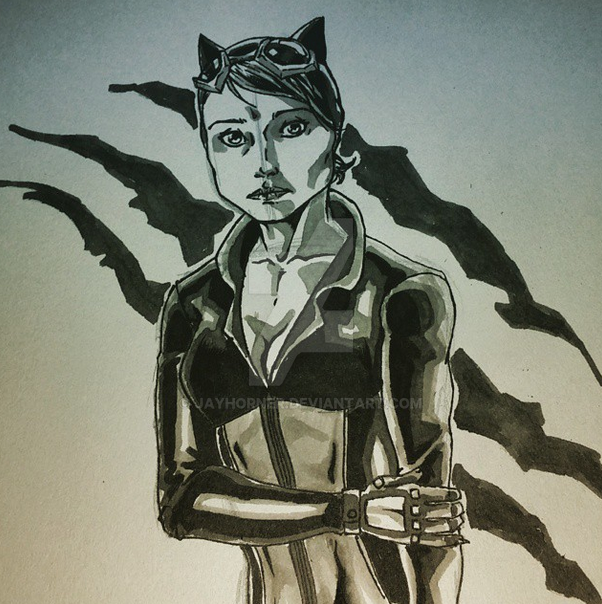 Catwoman by jayderange