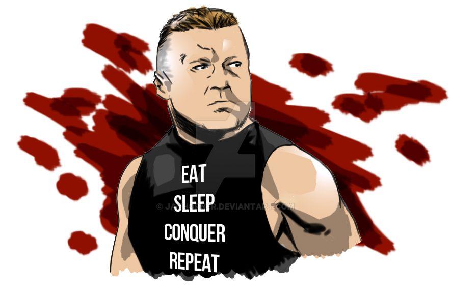 Eat Sleep Conquer Repeat by jayderange