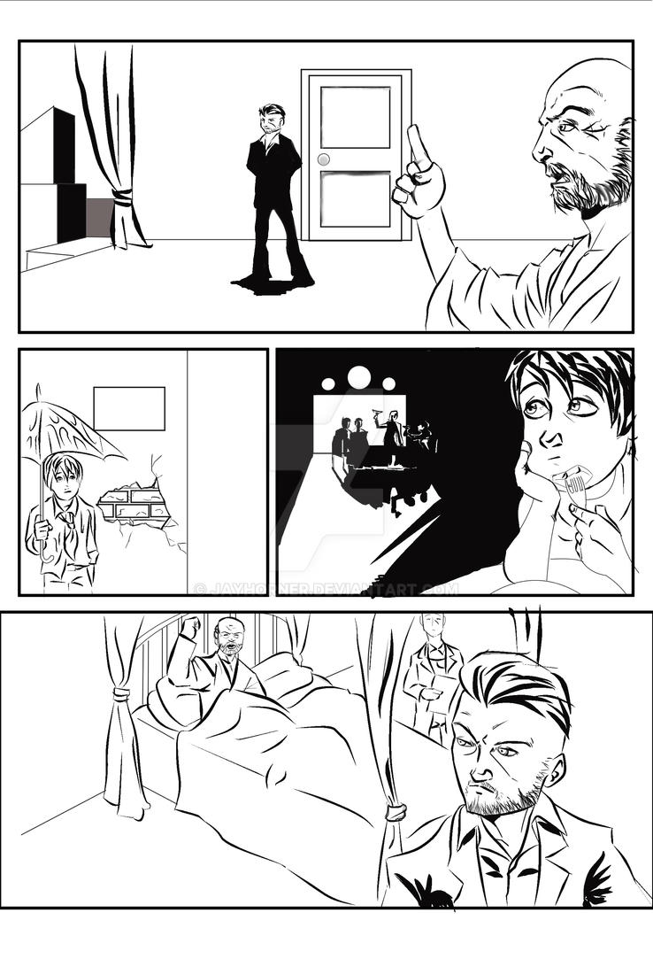 The Prediction page 2 inks by jayderange