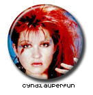 Cyndi Lauper Pin Button 3 ( Spilletta ) by Usagichan-odango