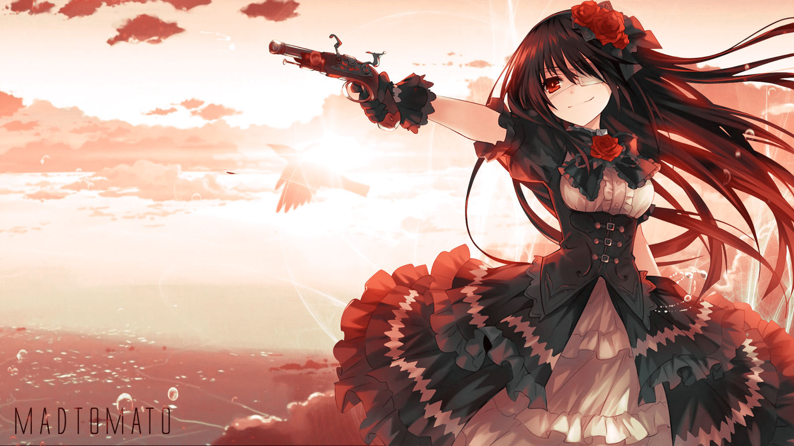 Kurumi Tokisaki Wallpaper From Date A Live By Madtomatoes On