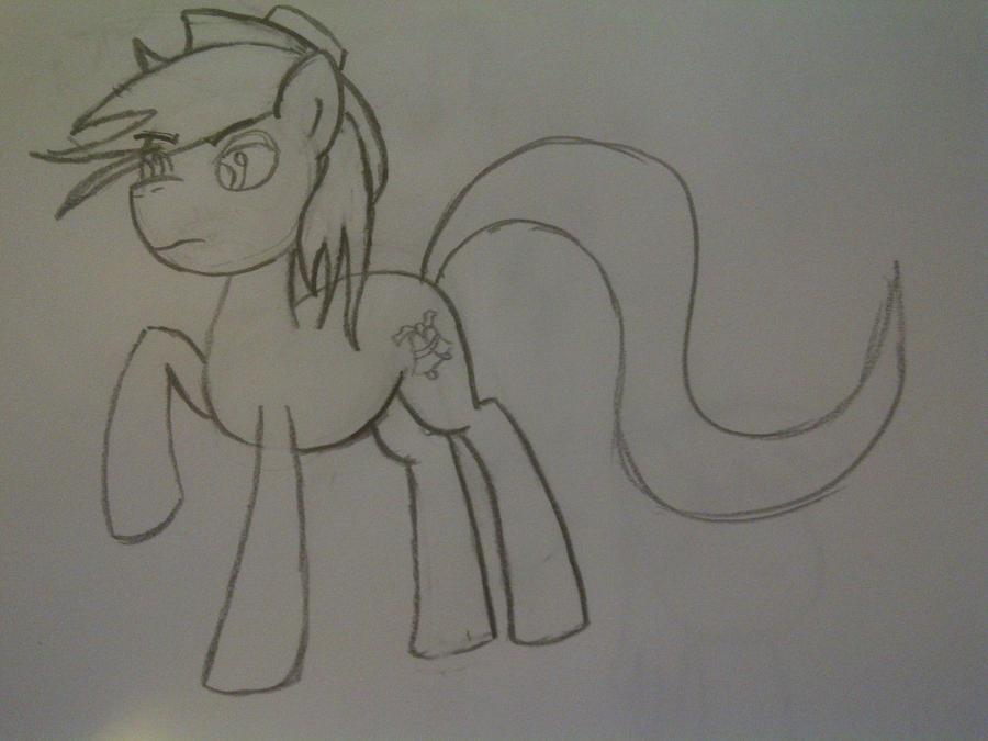 Pony Art Progress: October 1st by sehtkmet