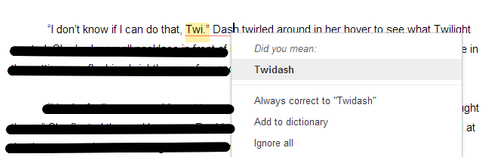 Google Docs Being Silly by sehtkmet