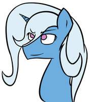Trixie portrait by sehtkmet