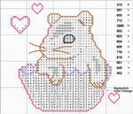 Hamster Cupcake Pattern
