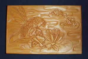 Water Lily Fairy by TalyrasMirror