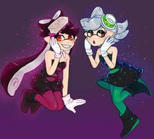 squid sisters by 3ffoff