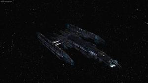 UNMD Falcon Class -- Battleship by JeffTheHusky