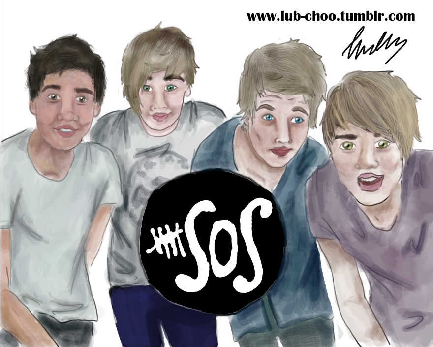 5SOS by Lub-choo