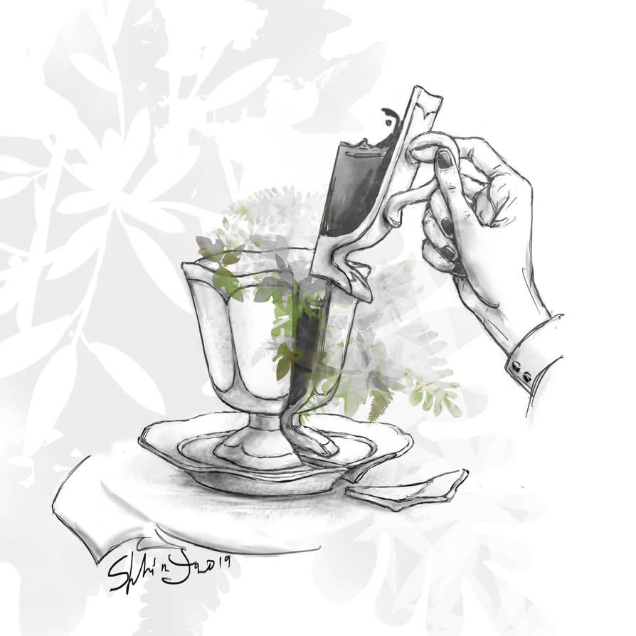 Sip of tea by SphinxVice