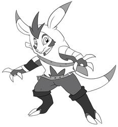 Pokemon - Squire Chespin Evolved