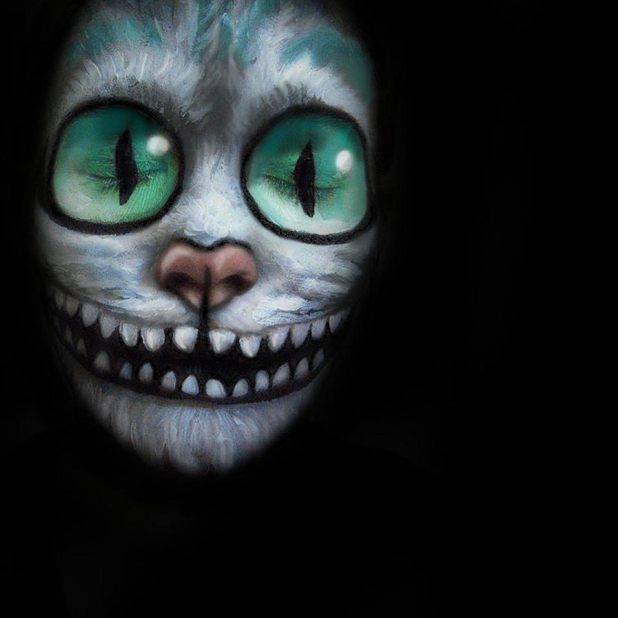 Chersire Cat Face Paint