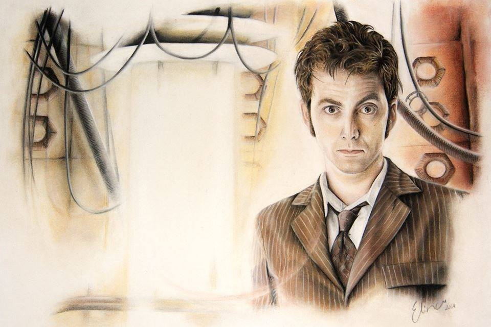 http://justelina.deviantart.com/art/Doctor-Who-drawing-565355269