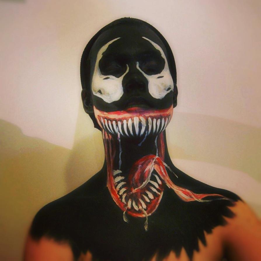 Venom Facepaint by Jus...