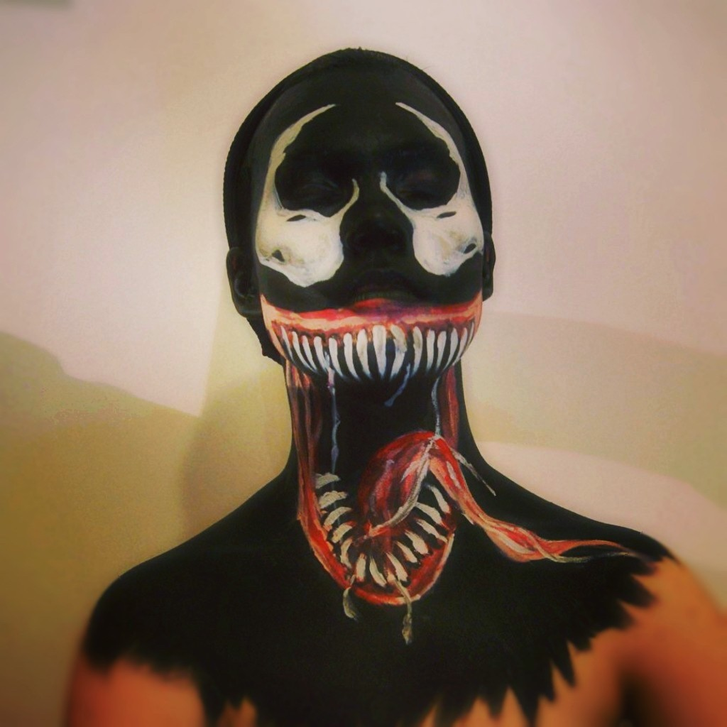 venom face paint wwwpixsharkcom images galleries