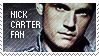 Nick Carter fan stamp 1 by wildflower4etrnty