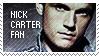 Nick Carter fan stamp 1 by wildflower4etrnty